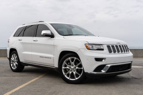 2015 Jeep Grand Cherokee Summit for sale at Motorcars of Jackson in Jackson MS