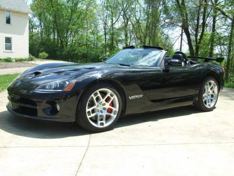 2008 Dodge Viper SRT-10 for sale at Auto Connection Inc in North Canton OH