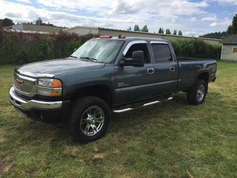 2006 GMC Sierra 3500 for sale in Puyallup, WA