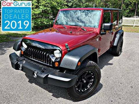 2013 Jeep Wrangler Unlimited for sale in Conway, SC