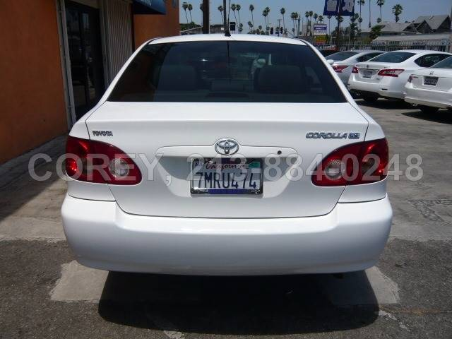 2008 Toyota Corolla for sale at COREY J AN / COREY4CARS in Los Angeles CA
