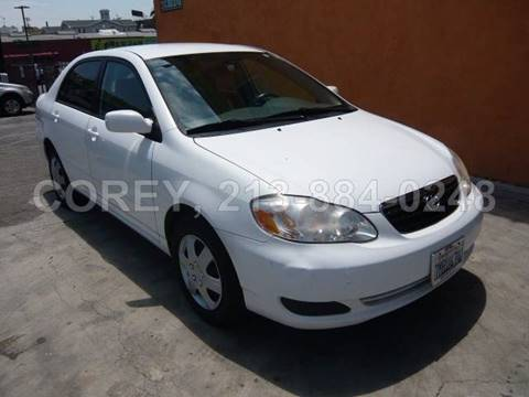 2008 Toyota Corolla for sale at WWW.COREY4CARS.COM / COREY J AN in Los Angeles CA