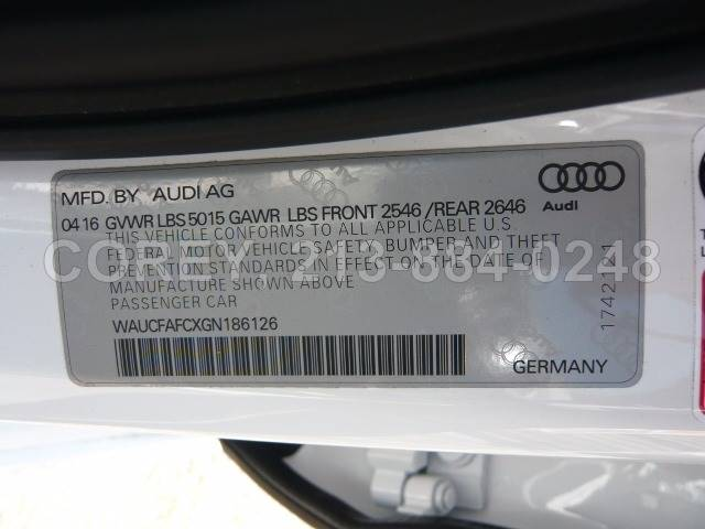 2016 Audi A6 for sale at COREY J AN / COREY4CARS in Los Angeles CA