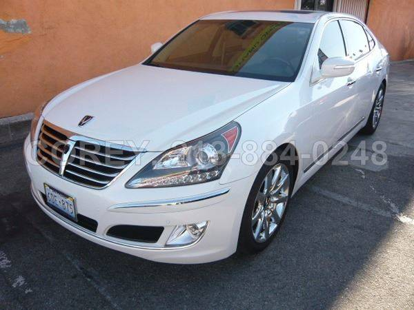 2013 Hyundai Equus for sale at COREY J AN / COREY4CARS in Los Angeles CA