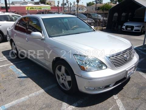 2005 Lexus LS 430 for sale at COREY J AN / COREY4CARS in Los Angeles CA