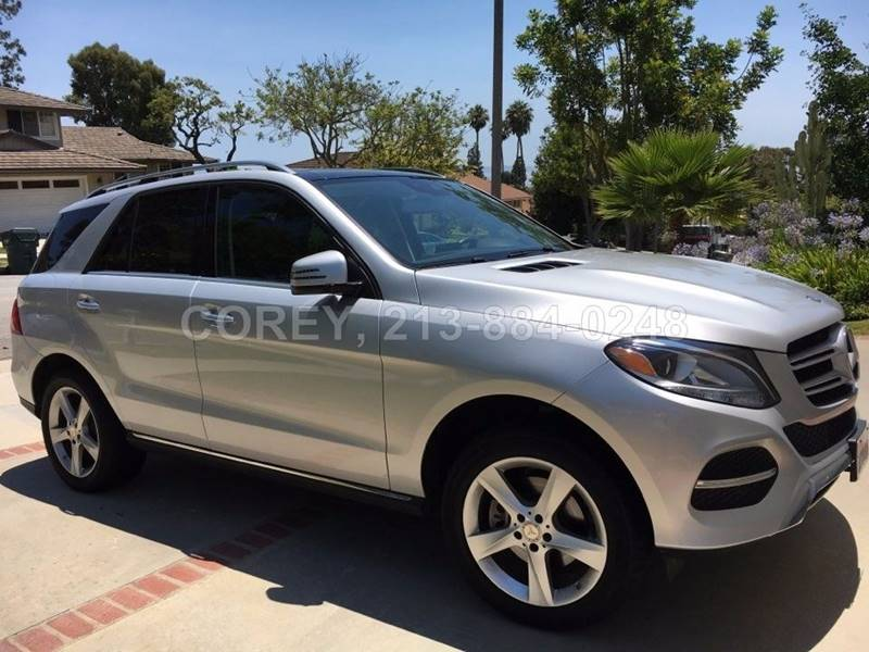 2016 Mercedes-Benz GLE for sale at COREY J AN / COREY4CARS in Los Angeles CA