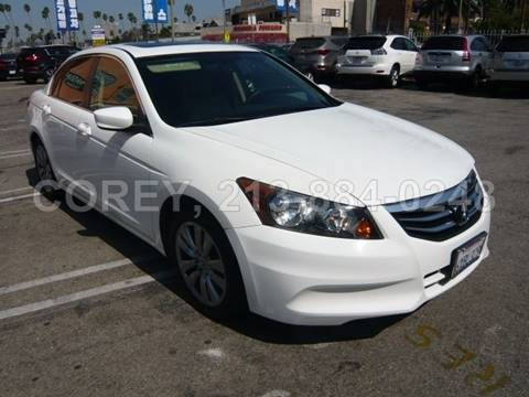 2012 Honda Accord for sale at WWW.COREY4CARS.COM / COREY J AN in Los Angeles CA