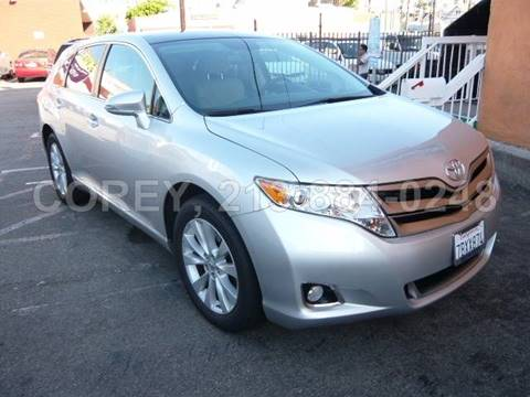 2013 Toyota Venza for sale at COREY J AN / COREY4CARS in Los Angeles CA