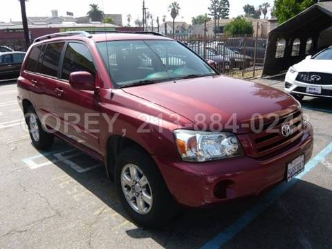 2006 Toyota Highlander for sale at COREY J AN / COREY4CARS in Los Angeles CA