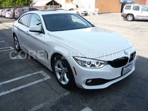 2015 BMW 4 Series for sale at COREY J AN / COREY4CARS in Los Angeles CA