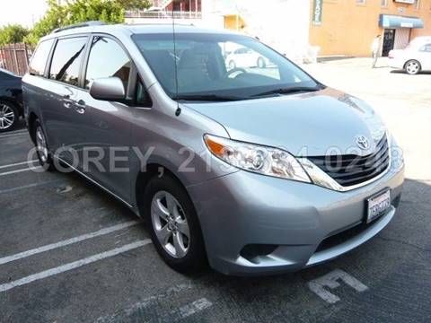 2014 Toyota Sienna for sale at COREY J AN / COREY4CARS in Los Angeles CA