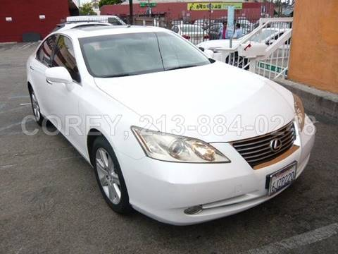 2009 Lexus ES 350 for sale at COREY J AN / COREY4CARS in Los Angeles CA