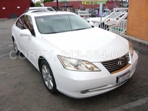 2009 Lexus ES 350 for sale at WWW.COREY4CARS.COM / COREY J AN in Los Angeles CA