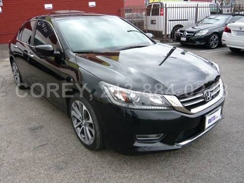 2013 Honda Accord for sale at COREY J AN / COREY4CARS in Los Angeles CA