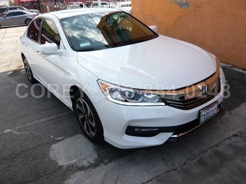2017 Honda Accord for sale at COREY J AN / COREY4CARS in Los Angeles CA