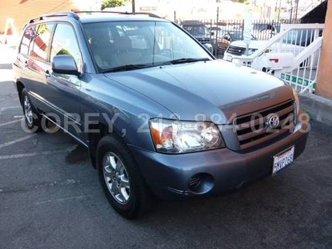 2005 Toyota Highlander for sale at WWW.COREY4CARS.COM / COREY J AN in Los Angeles CA