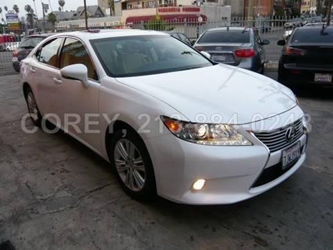 2015 Lexus ES 350 for sale at WWW.COREY4CARS.COM / COREY J AN in Los Angeles CA