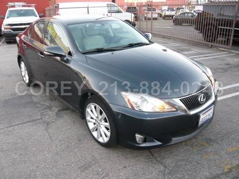 2009 Lexus IS 250 for sale at WWW.COREY4CARS.COM / COREY J AN in Los Angeles CA