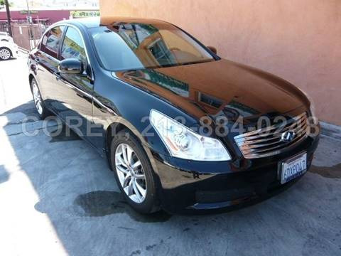 2007 Infiniti G35 for sale at WWW.COREY4CARS.COM / COREY J AN in Los Angeles CA