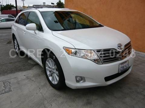 2012 Toyota Venza for sale at WWW.COREY4CARS.COM / COREY J AN in Los Angeles CA