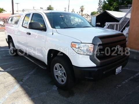 2017 Toyota Tundra for sale at WWW.COREY4CARS.COM / COREY J AN in Los Angeles CA