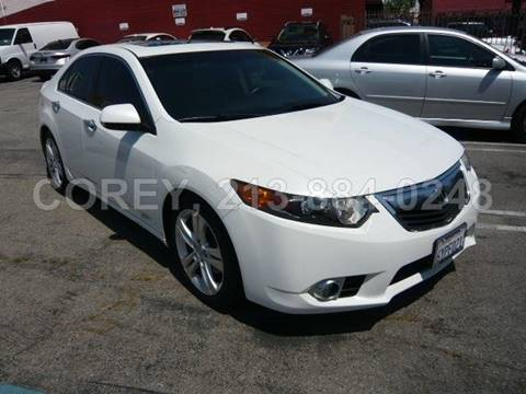 2013 Acura TSX for sale at WWW.COREY4CARS.COM / COREY J AN in Los Angeles CA