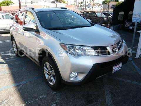 2015 Toyota RAV4 for sale at WWW.COREY4CARS.COM / COREY J AN in Los Angeles CA