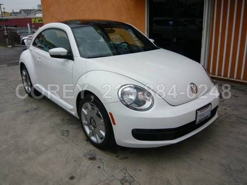 2013 Volkswagen Beetle for sale at WWW.COREY4CARS.COM / COREY J AN in Los Angeles CA