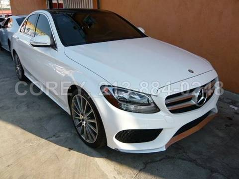 2015 Mercedes-Benz C-Class for sale at WWW.COREY4CARS.COM / COREY J AN in Los Angeles CA