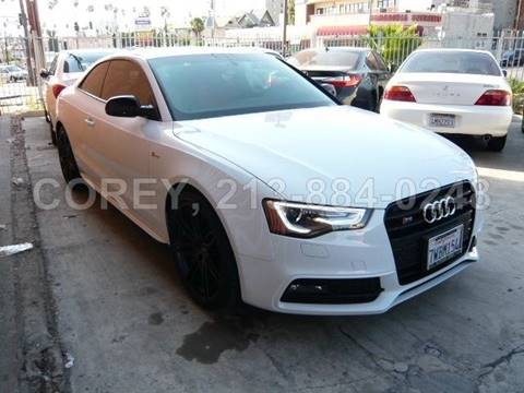2017 Audi S5 for sale at WWW.COREY4CARS.COM / COREY J AN in Los Angeles CA
