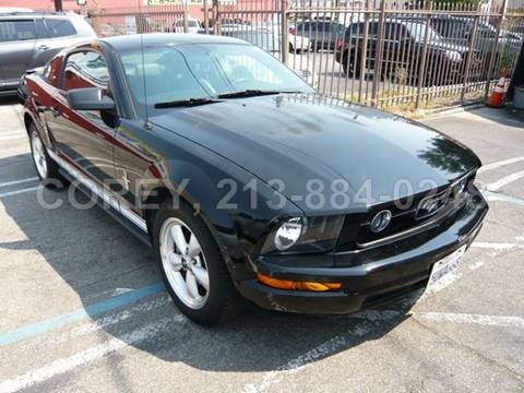 2008 Ford Mustang for sale at WWW.COREY4CARS.COM / COREY J AN in Los Angeles CA