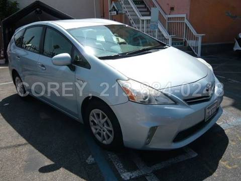 2012 Toyota Prius v for sale at WWW.COREY4CARS.COM / COREY J AN in Los Angeles CA