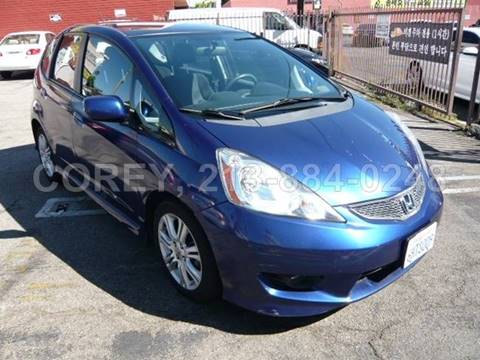 2009 Honda Fit for sale at WWW.COREY4CARS.COM / COREY J AN in Los Angeles CA