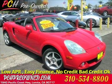 2003 Toyota MR2 Spyder for sale in Lomita, CA