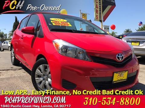 2013 Toyota Yaris for sale in Lomita, CA