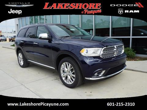 2017 Dodge Durango for sale in Picayune, MS