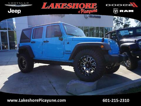 2017 Jeep Wrangler Unlimited for sale in Picayune MS