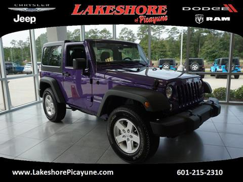 2017 Jeep Wrangler for sale in Picayune MS