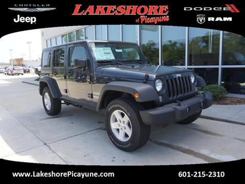 2017 Jeep Wrangler Unlimited for sale in Picayune, MS