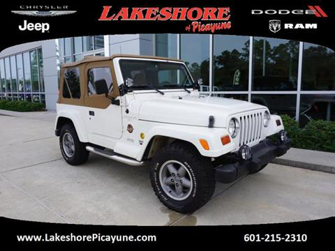 1998 Jeep Wrangler for sale in Picayune MS