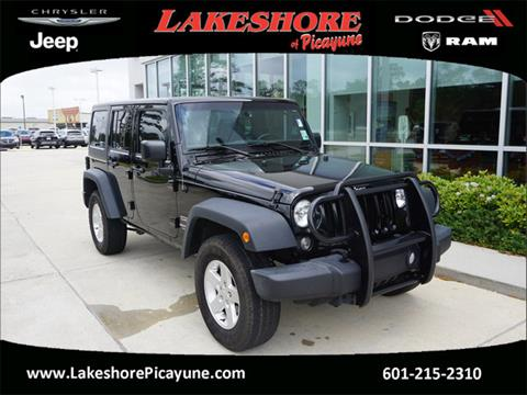 2016 Jeep Wrangler Unlimited for sale in Picayune, MS