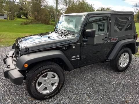 2016 Jeep Wrangler for sale in Abingdon, VA