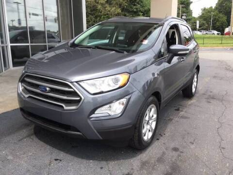 2018 Ford EcoSport for sale at Summit Credit Union Auto Buying Service in Winston Salem NC