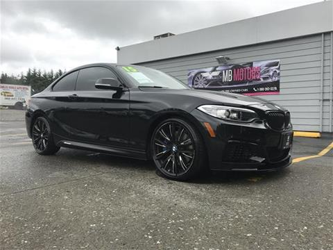 2015 BMW 2 Series for sale in Ferndale, WA