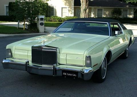 1974 Lincoln Mark Iv For Sale In Florida Carsforsale Com
