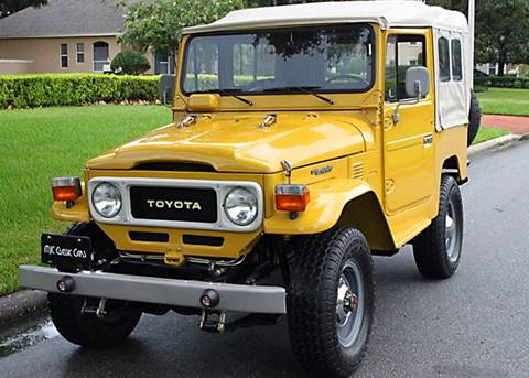 1982 Toyota Land Cruiser For Sale In Lakeland, FL