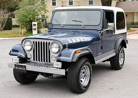 1981 Jeep CJ-7 for sale in Lakeland, FL