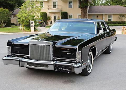 1977 Lincoln Town Car For Sale In Lakeland Fl