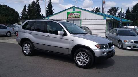 2005 BMW X5 for sale in Puyallup WA