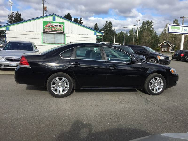 Attractive 2013 Chevrolet Impala For Sale At Extreme Auto Sales Inc In Puyallup WA